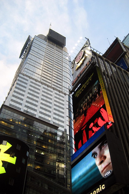 Nyc Times Square Cond 233 Nast Building And One Times