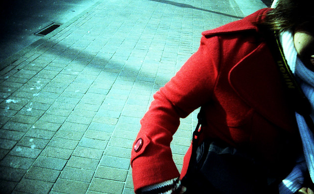A coat of red