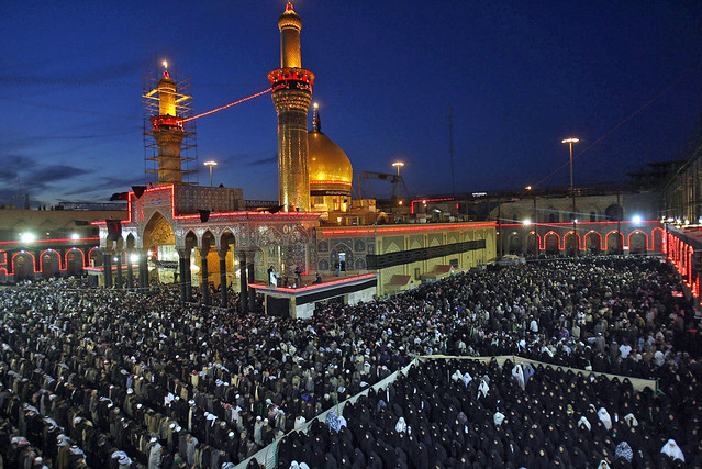 Tomb of Imam Hussein Ra in Karbala, Iraq
