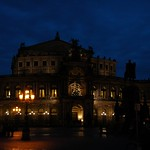 Semper Opera House at Night - Dresden, Germany