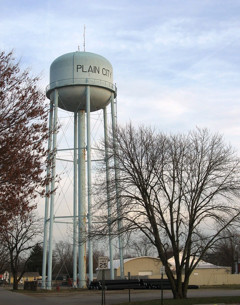 Plain City watertower IMG 2298