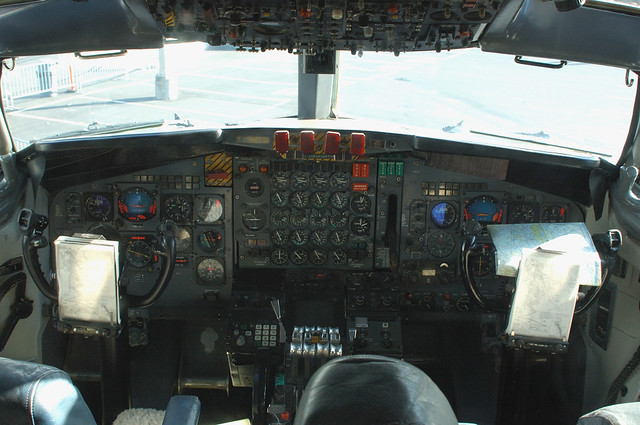 Air force one cockpit