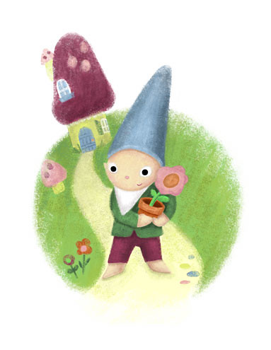 Gnome and Cottage
