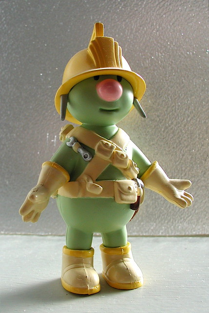 fraggle rock pvc doozer figure (date unknown) | Flickr ...