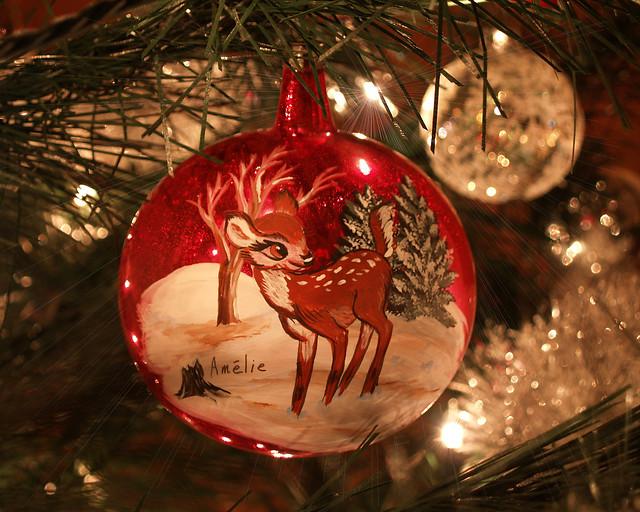 Bambi Christmas Ornament Flickr Photo Sharing