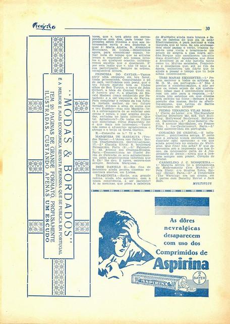 Cinéfilo, Nº 109, 1930 - 30
