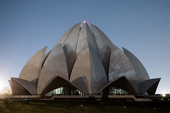 Lotus Temple—Lights Out