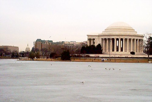Jefferson Memorial, from across the Tidal Basin