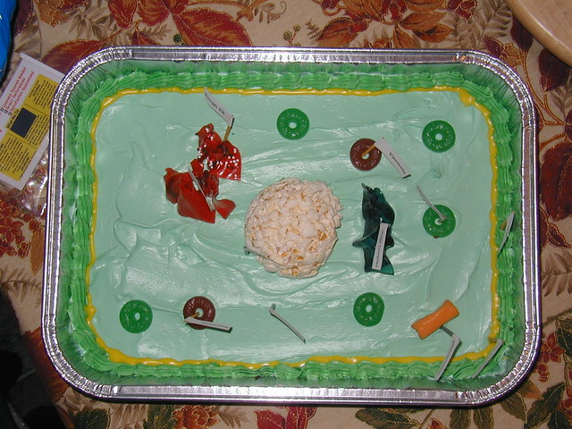 3D Plant Cell model Cake http://www.flickr.com/photos/dougal/328207542/