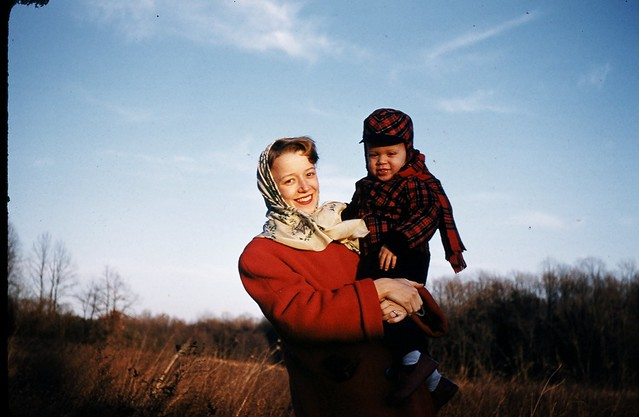 Mother and child 1954