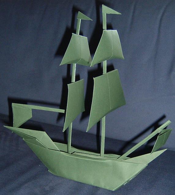 origami ship flickr photo sharing