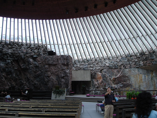 What to do in Helsinki: visiting churches