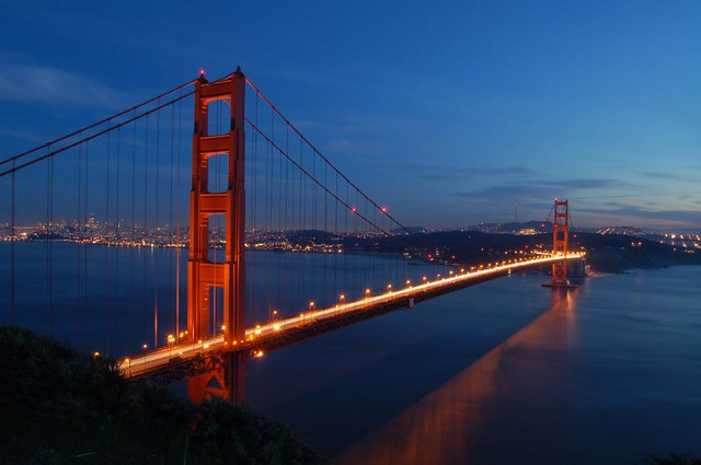 Golden Gate Bridge Sunset | Flickr - Photo Sharing!