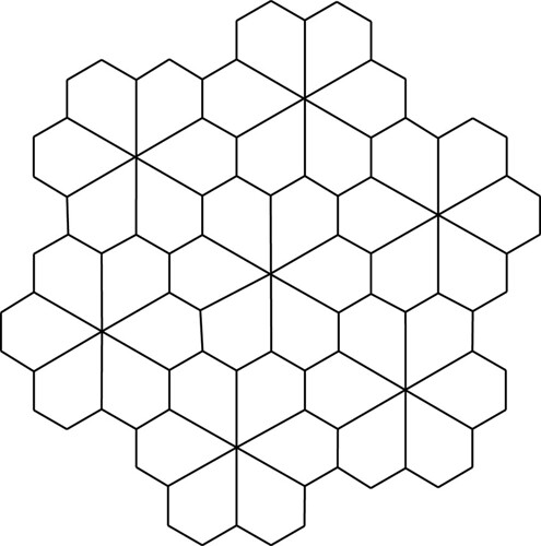 Pentagonal Flower Tessellation Flickr Photo Sharing