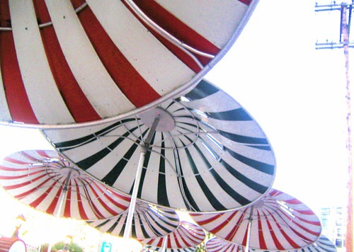 peppermint umbrellas