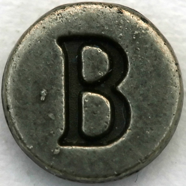 pewter letter b flickr photo sharing With pewter letters