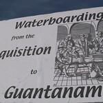 Waterboarding From The Inquisition To Guantanamo, Constitution Ave., NW (Washington, DC)