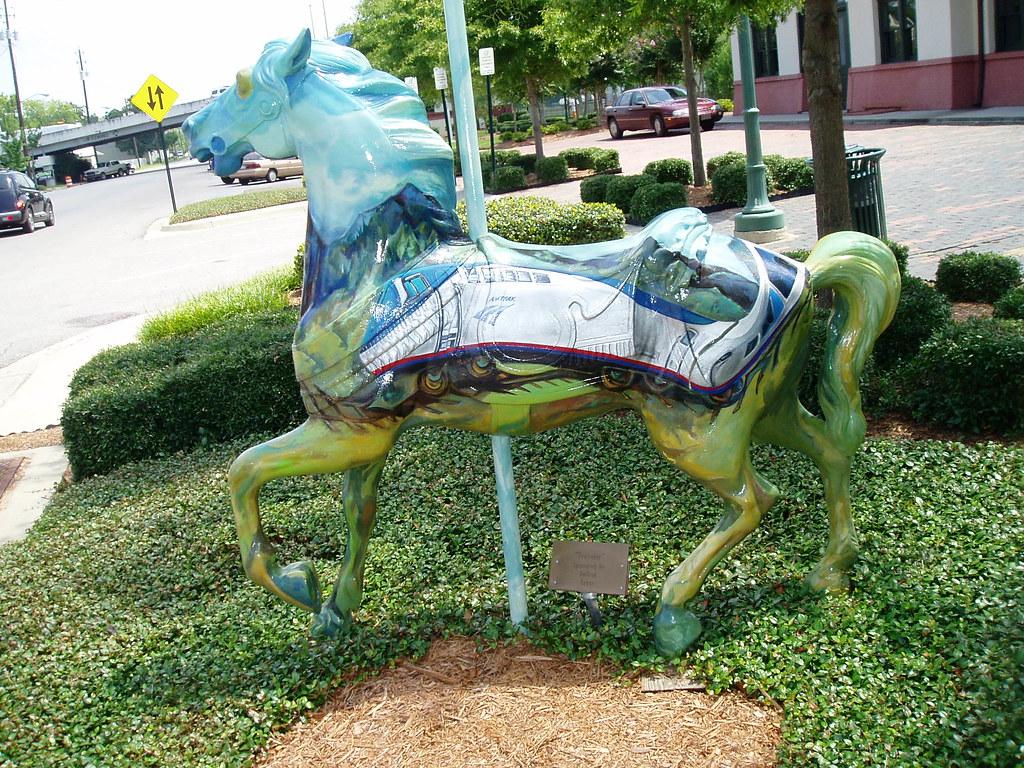 Meridian Carousel Horse