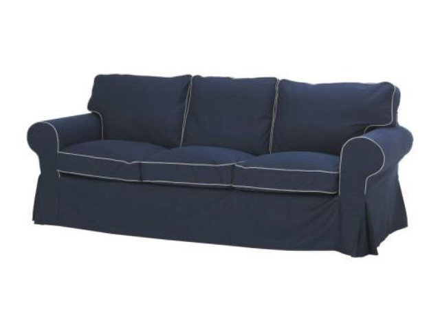 Groovy Ikea Ektorp 3 Seat Sofa Slipcover Blekinge White Ocoug Best Dining Table And Chair Ideas Images Ocougorg