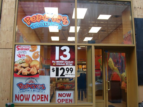 Popeyes fried chicken new york city for Asia asian cuisine richmond hill menu