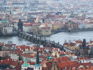 Charles Bridge and old Prague
