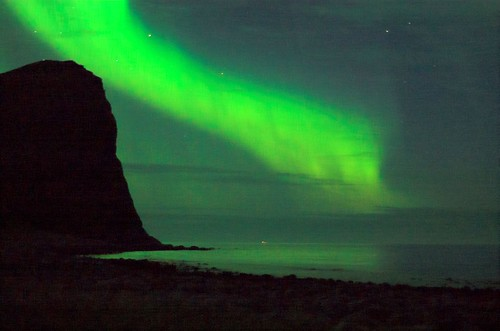 Northern Lights at the Lofoten