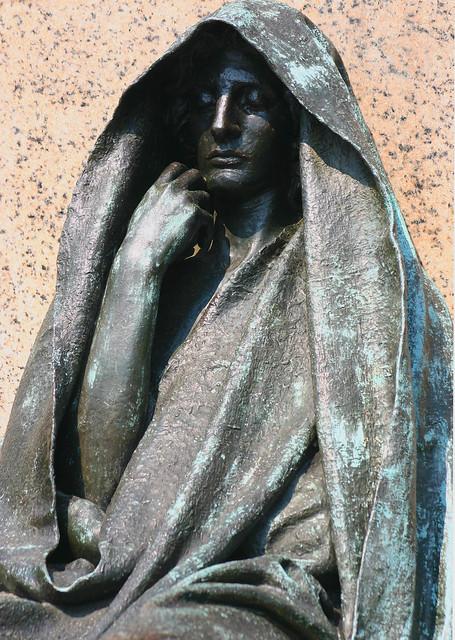 Adams Memorial By Augustus Saint Gaudens In Rock Creek Cem