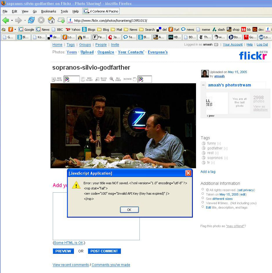 flickr-sopranos-dhtml-bug