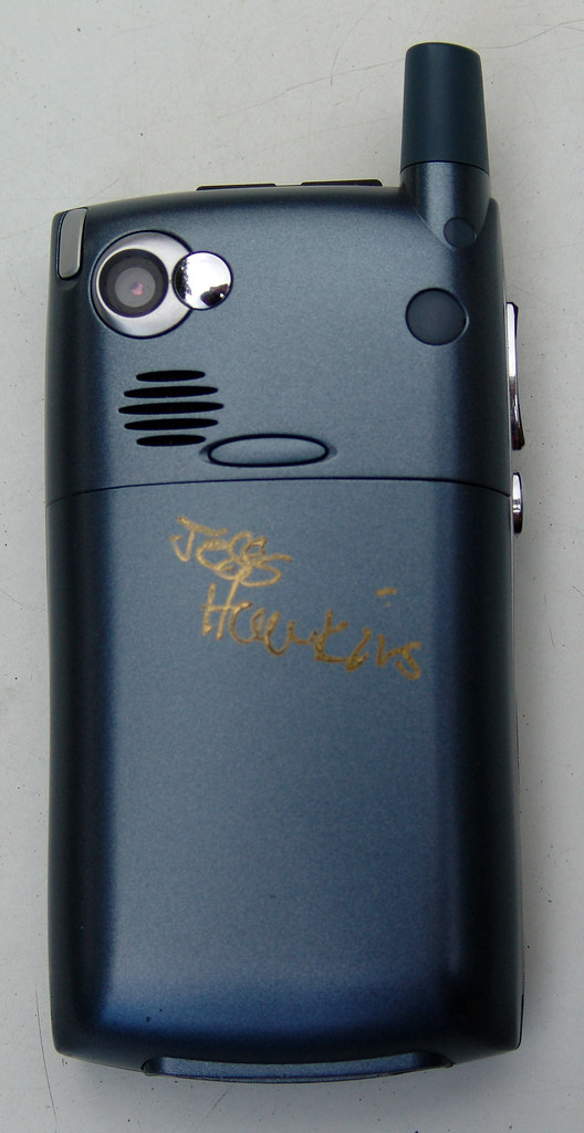 My signed Treo 650