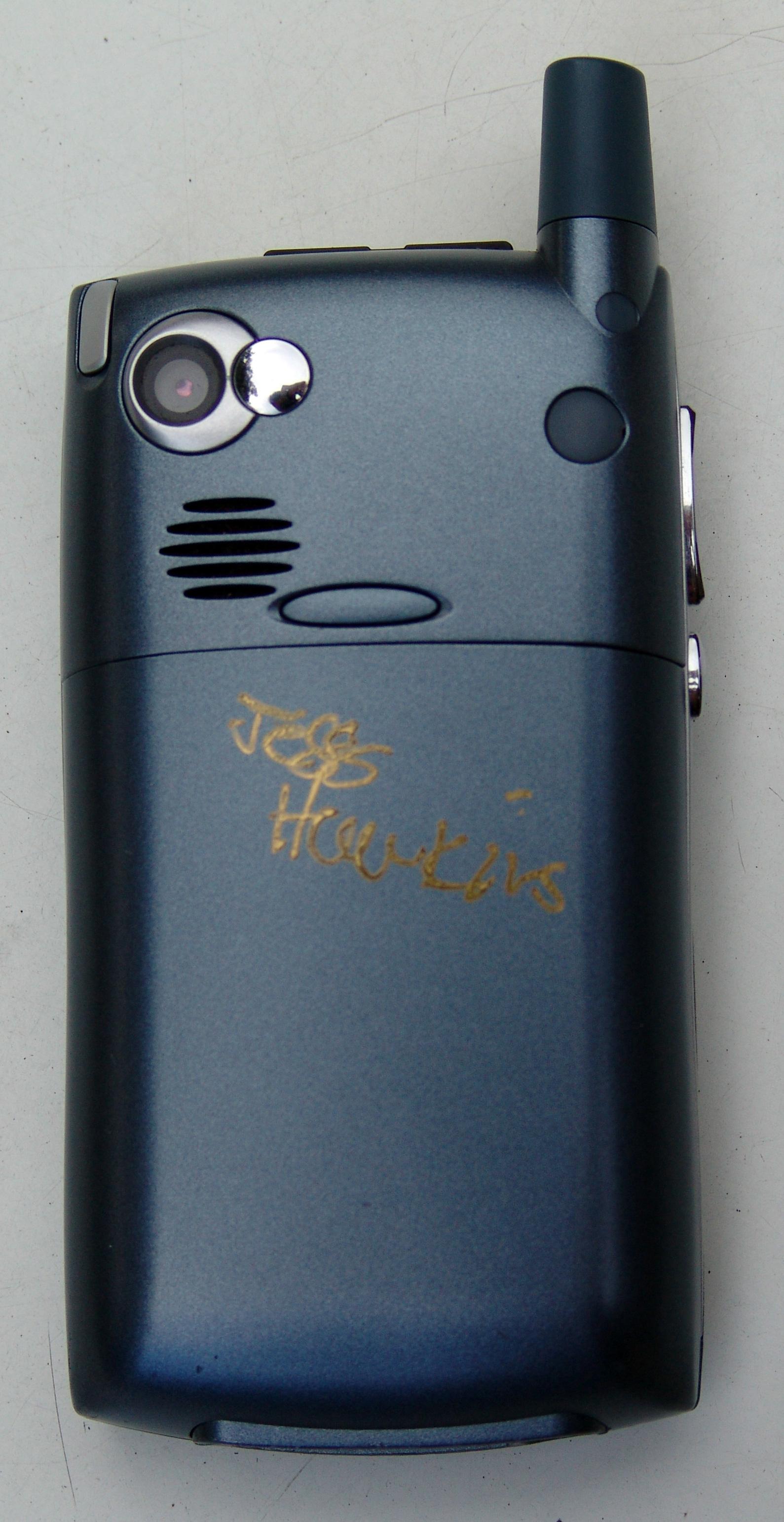 My signed Treo 650