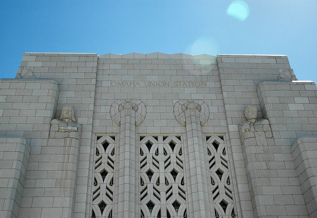 Art Deco In Omaha Building Facade Flickr Photo Sharing