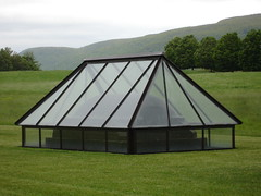 greenhouse(0.0), outdoor structure(0.0), net(0.0), dome(0.0), canopy(1.0), pavilion(1.0), tent(1.0),