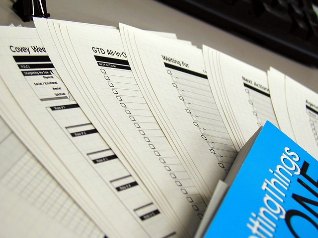 DIY Planner with GTD   Flickr - Photo Sharing!