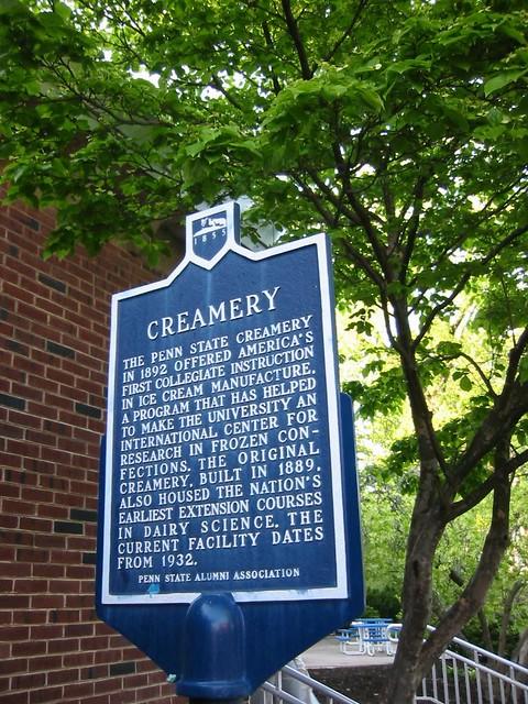 Penn State Creamery Tours