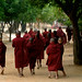 Burma - Bagan - monastery w young monks by Sara Heinrichs (awfulsara)