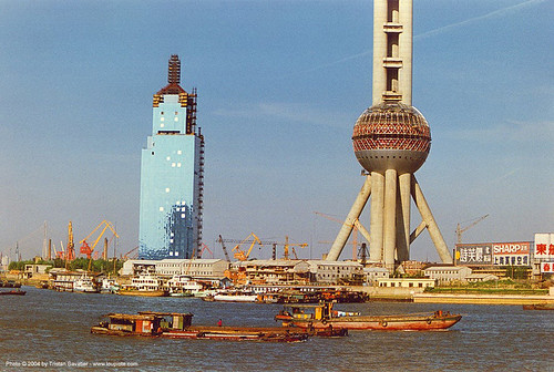 22800 - Oriental Pearl TV Tower - Shanghai Pudong