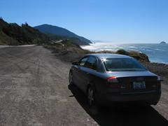 automobile(1.0), automotive exterior(1.0), audi(1.0), executive car(1.0), family car(1.0), wheel(1.0), vehicle(1.0), mid-size car(1.0), audi a4(1.0), compact car(1.0), sedan(1.0), land vehicle(1.0), luxury vehicle(1.0),