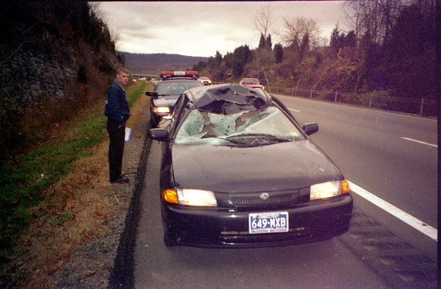 Car Deer Accident Kills  Southeast Kansas Women