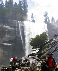 Yosemite Mist Trail 'oil painting' conversion