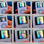 iPod photo thumb cinema flip book