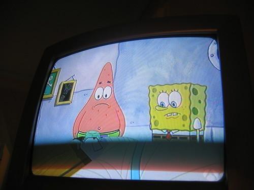 spongebob televisions