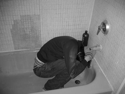 Fear Filled Bathtub