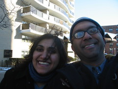 With Anar in Queens.