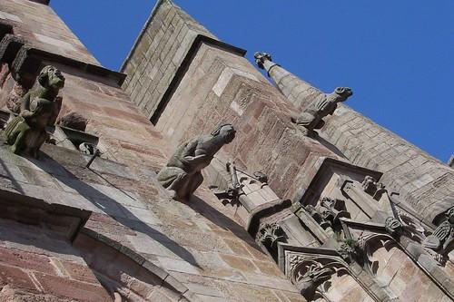 gothic gargoyles rodez