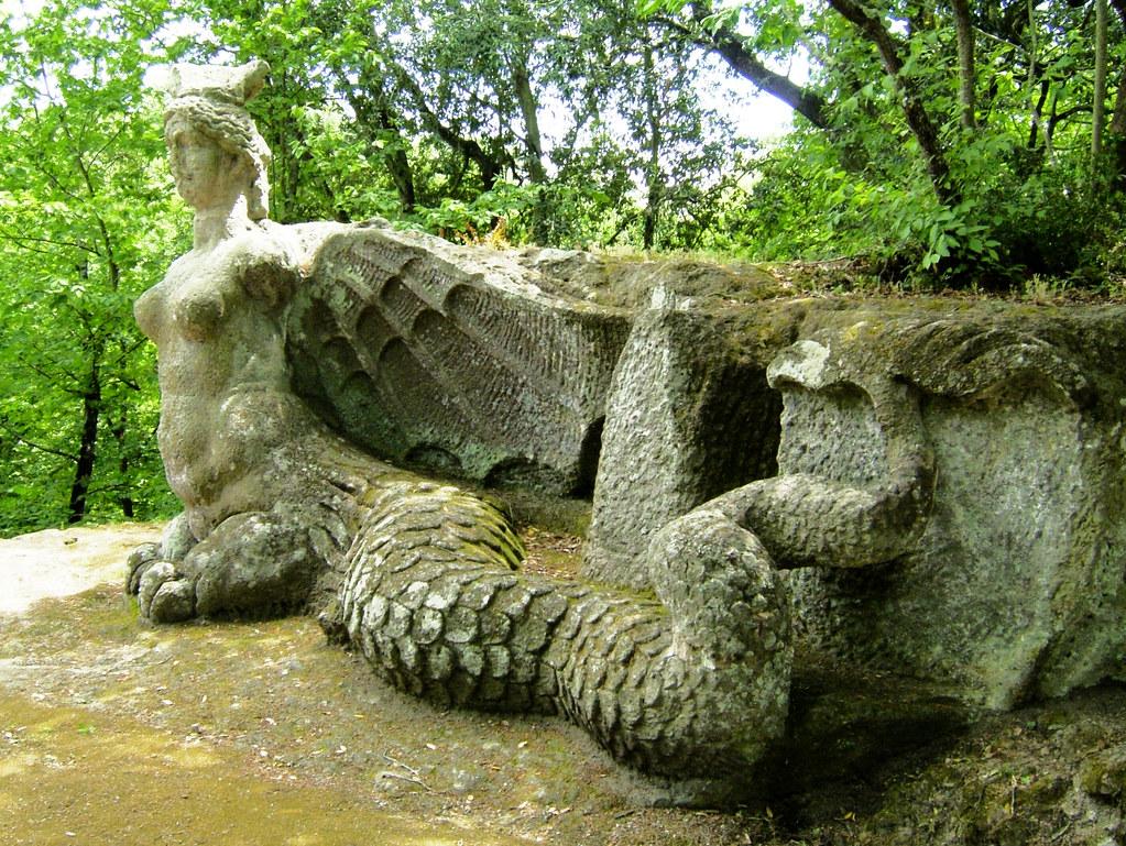 El parque de los monstruos de bomarzo una introducci n for Jardines de bomarzo
