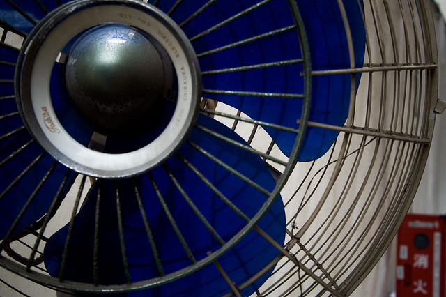 cobalt electric fan