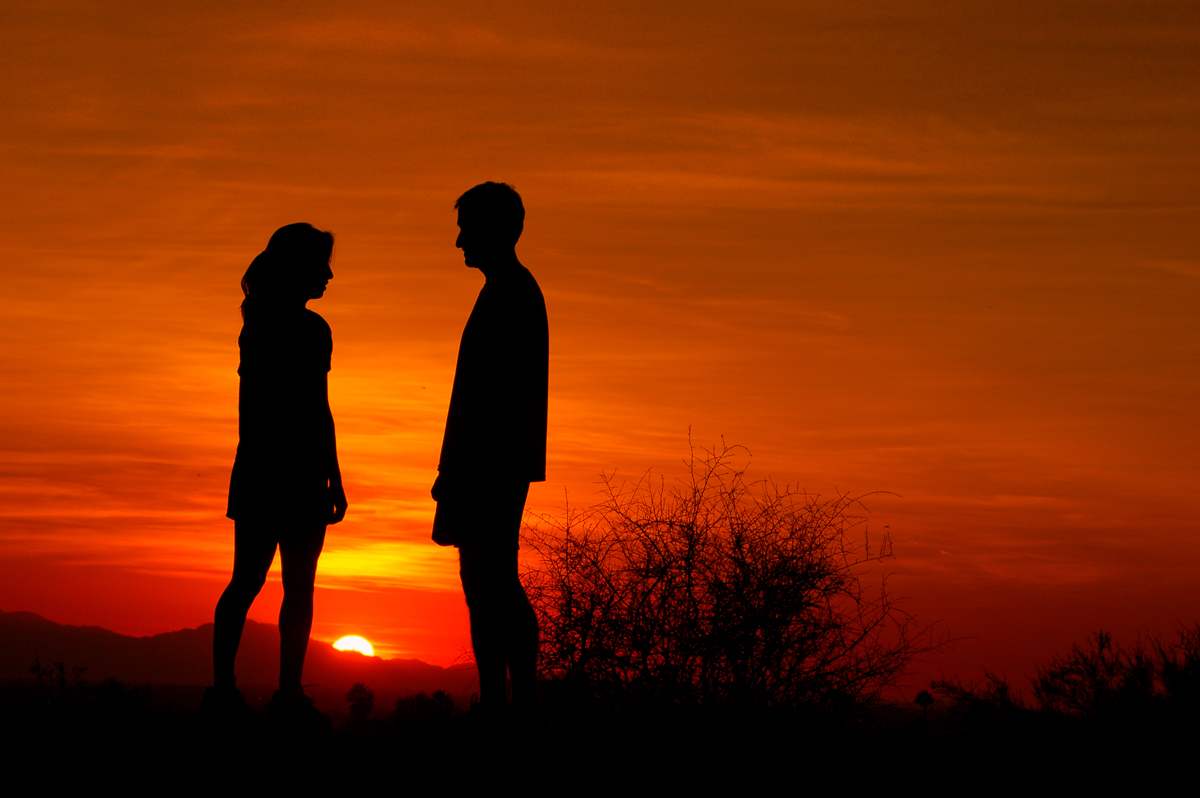 Romancing the sunset
