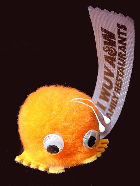 Orange A&W Wuppet