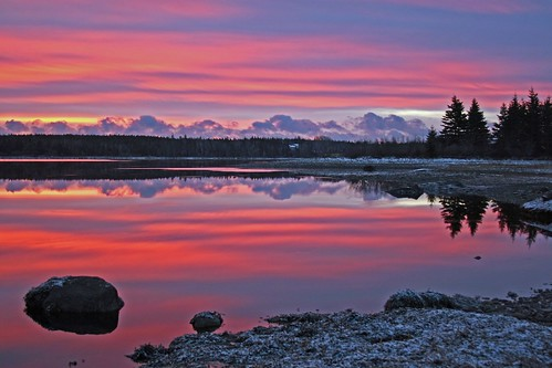 home sableriver novascotia sunrise frosty canada reflections impressedbeauty bravo instantfave specland 20d 1on1sunrisesunsetsphotooftheday abigfave