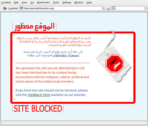 Internet censorship in UAE